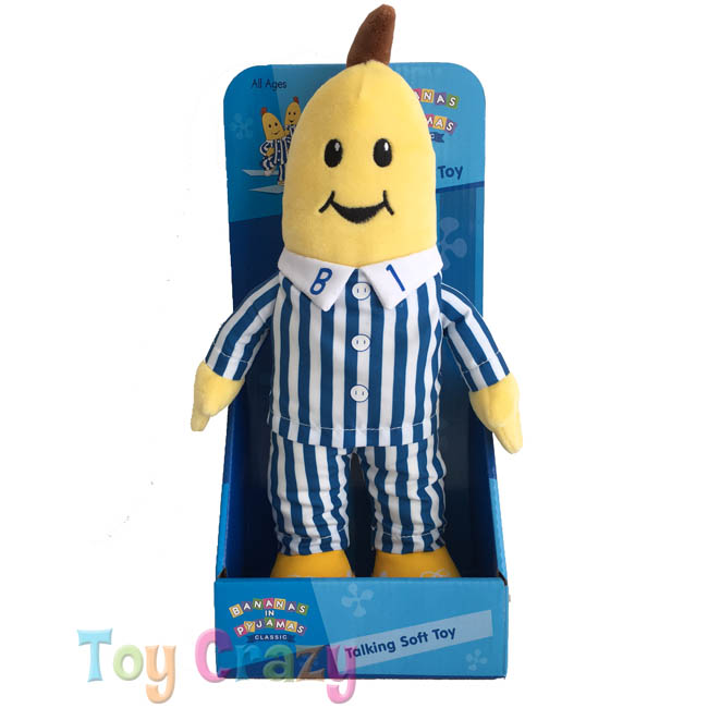 Bananas in Pyjamas Talking B1 Banana Soft Plush Toy