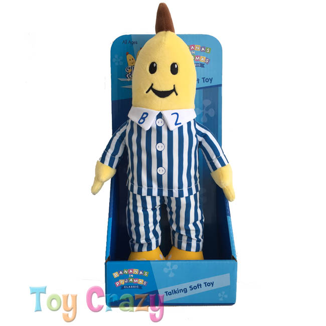 Bananas in Pyjamas Talking B2 Banana Soft Plush Toy