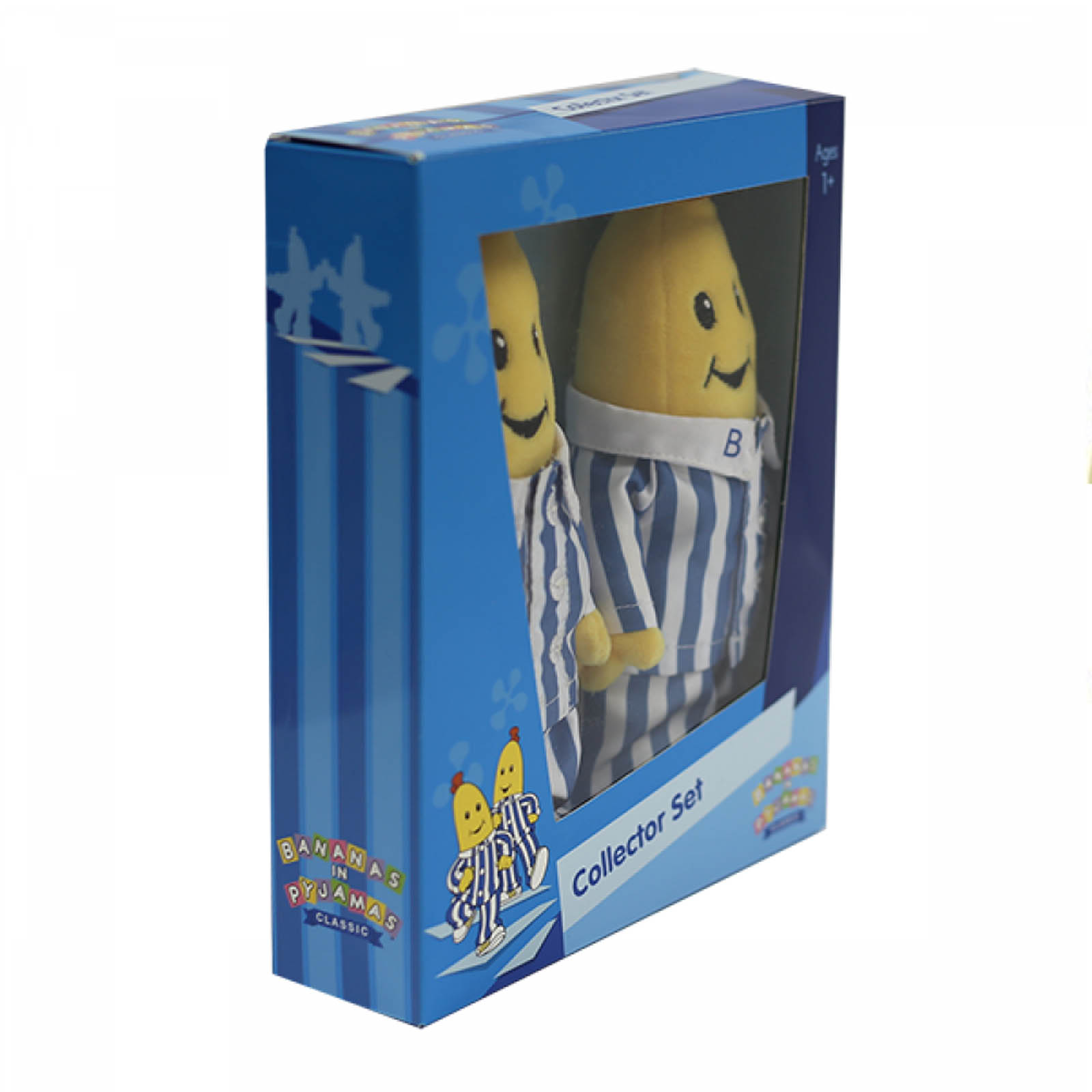Bananas in Pyjamas Plush Toy Collector Set Boxed