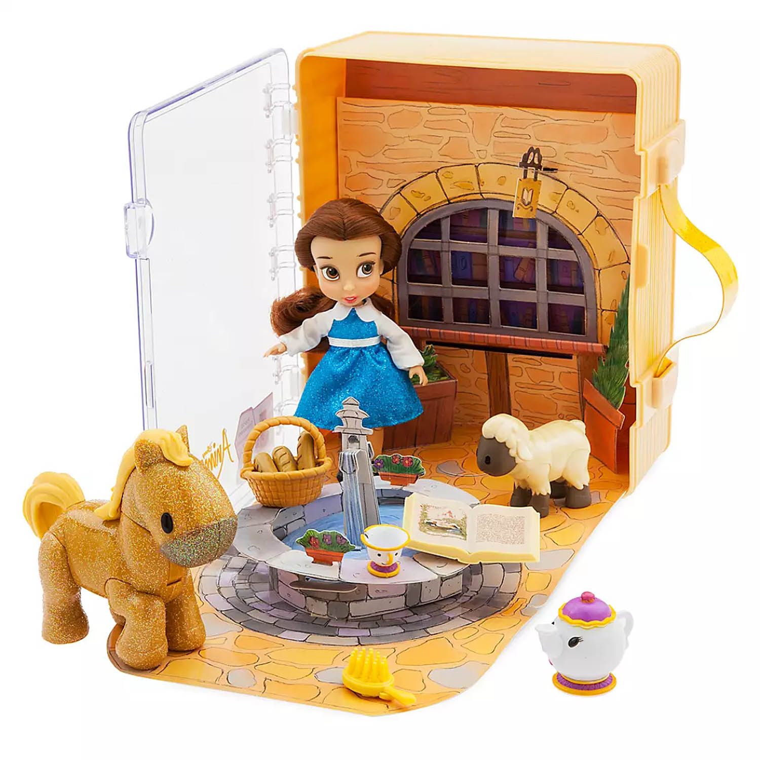 Disney Animators Collection Beauty & The Beast Belle Mini Doll