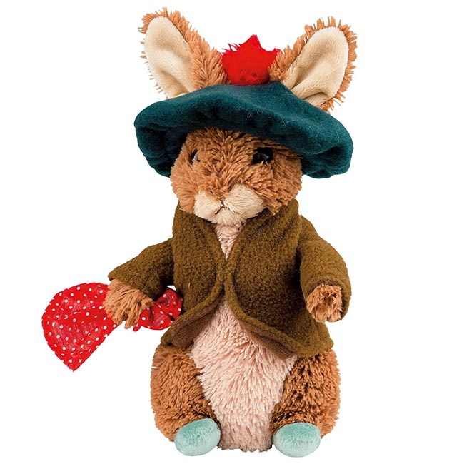 Beatrix Potter Peter Rabbit Large Plush Benjamin Bunny Toy