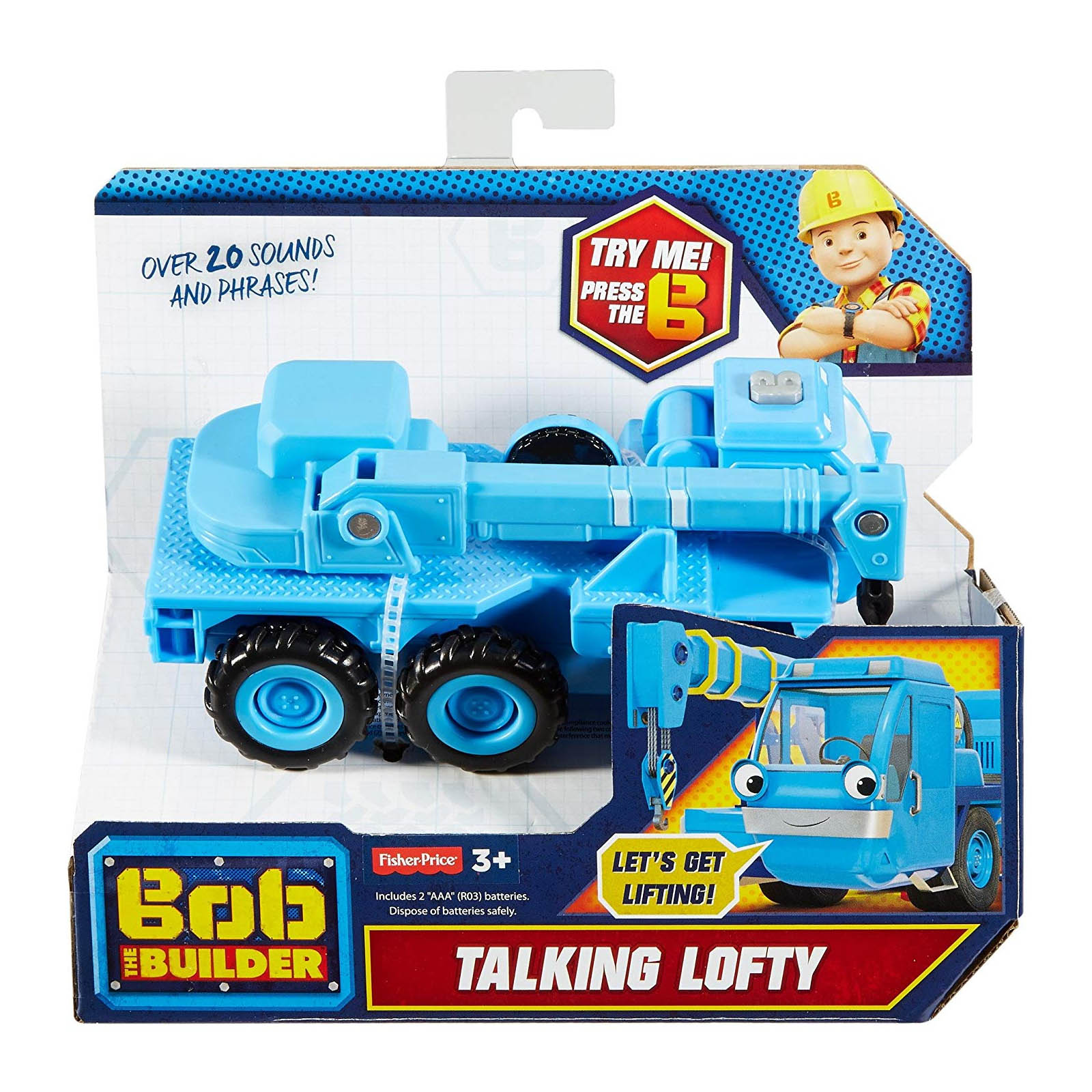 Bob The Builder Talking Lofty the Crane