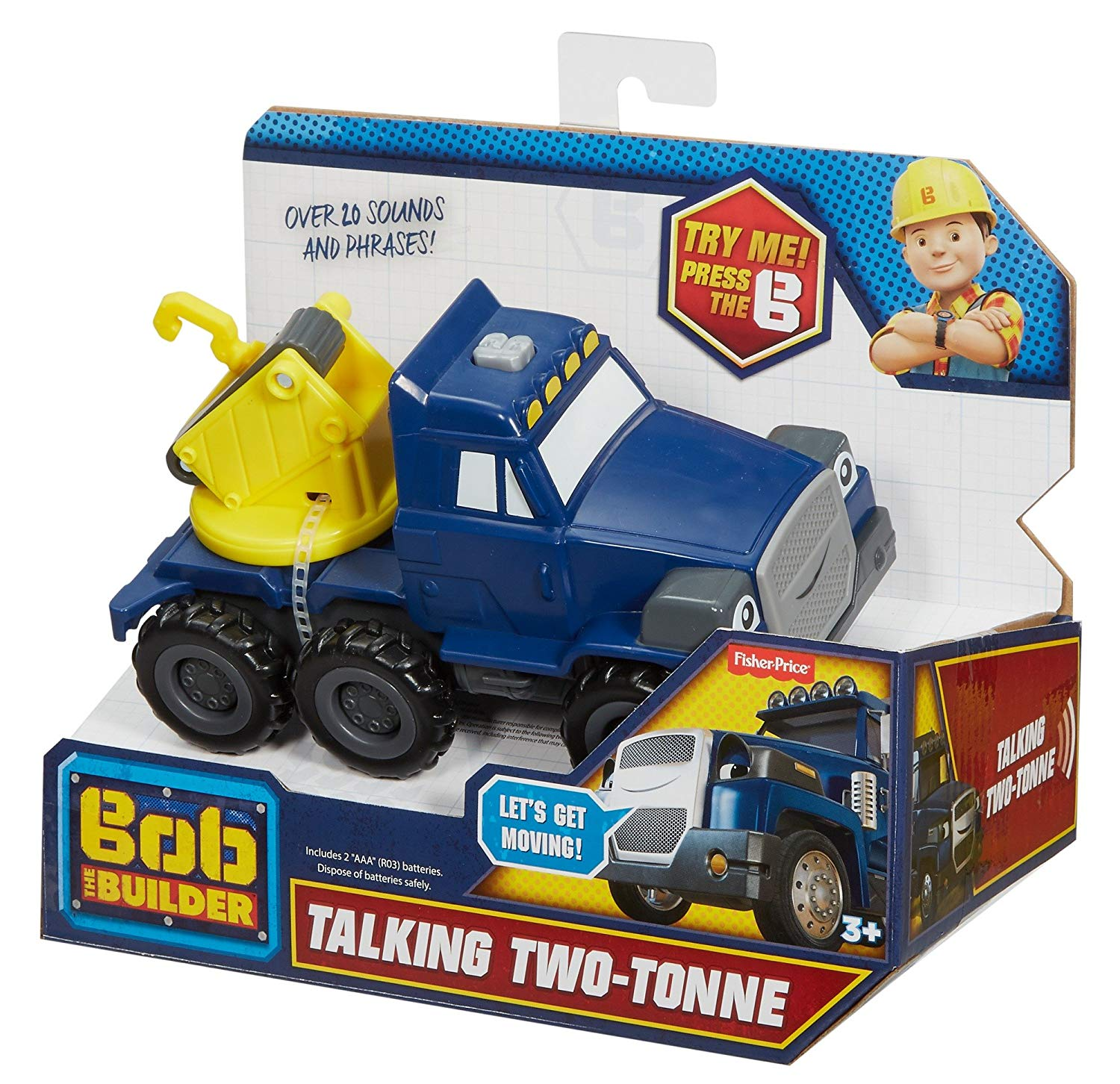 Bob The Builder Talking Two-Tonne Truck
