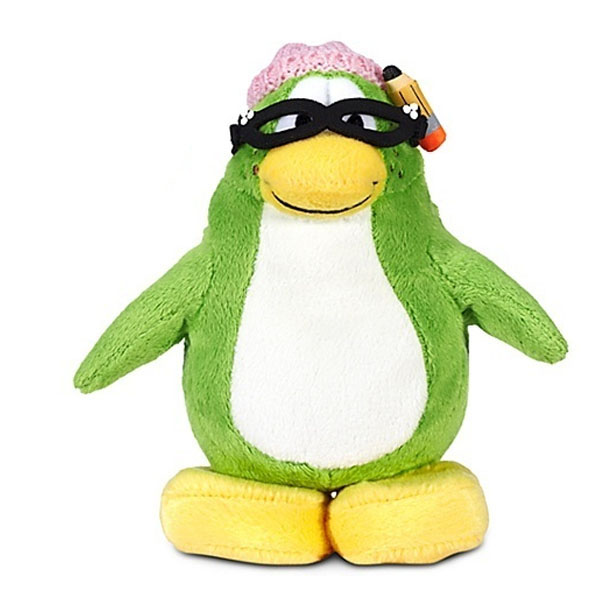 Club Penguin Limited Edition Penguin Plush Aunt Arctic 15cm