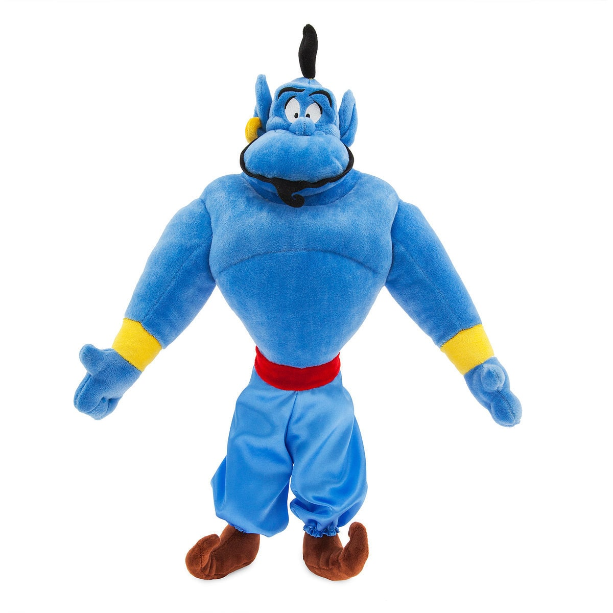 Disney Aladdin Large Plush Genie Doll Disney Store Exclusive