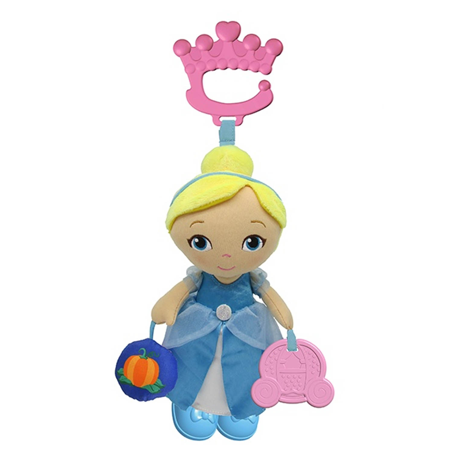 Disney Baby Disney Princess Cinderella Plush Baby Activity Toy - Click Image to Close