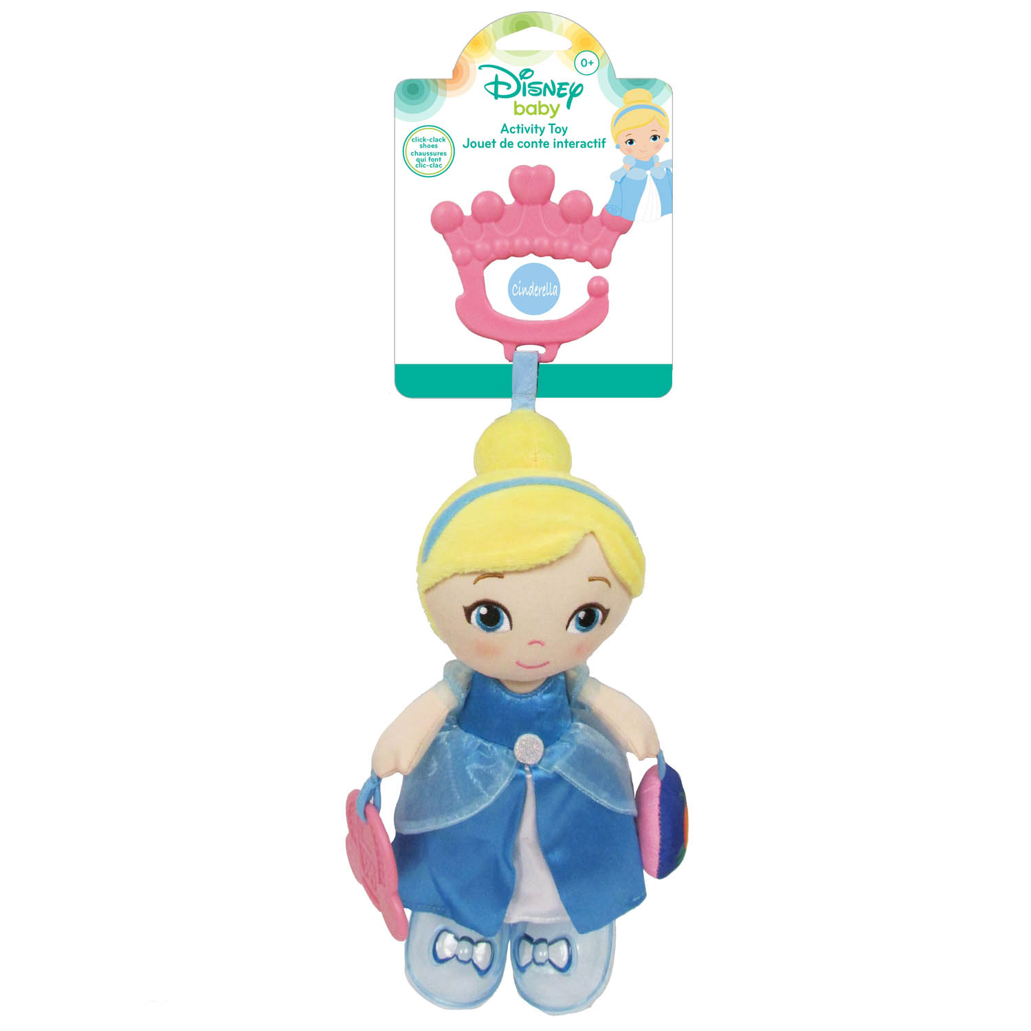 Disney Baby Disney Princess Cinderella Plush Baby Activity Toy