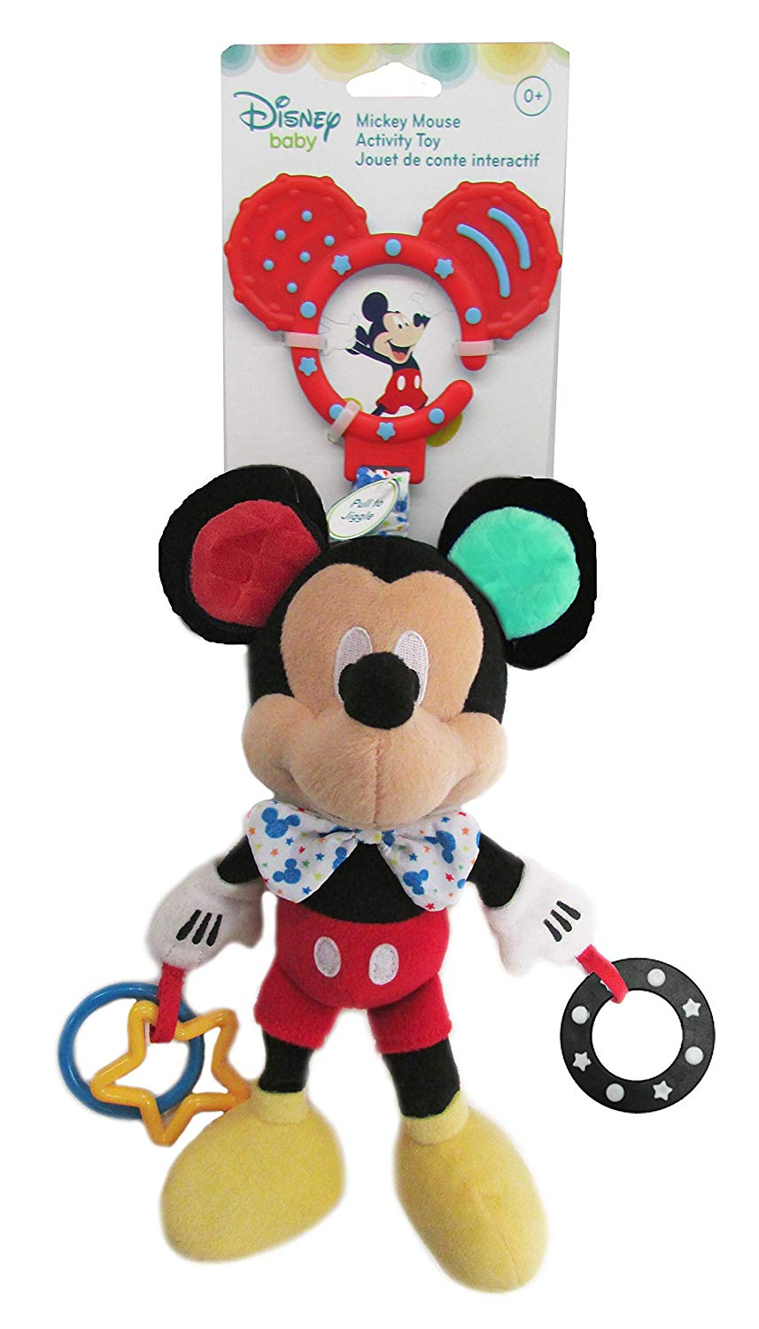 Disney Baby Mickey Mouse Baby Attachable Activity Toy
