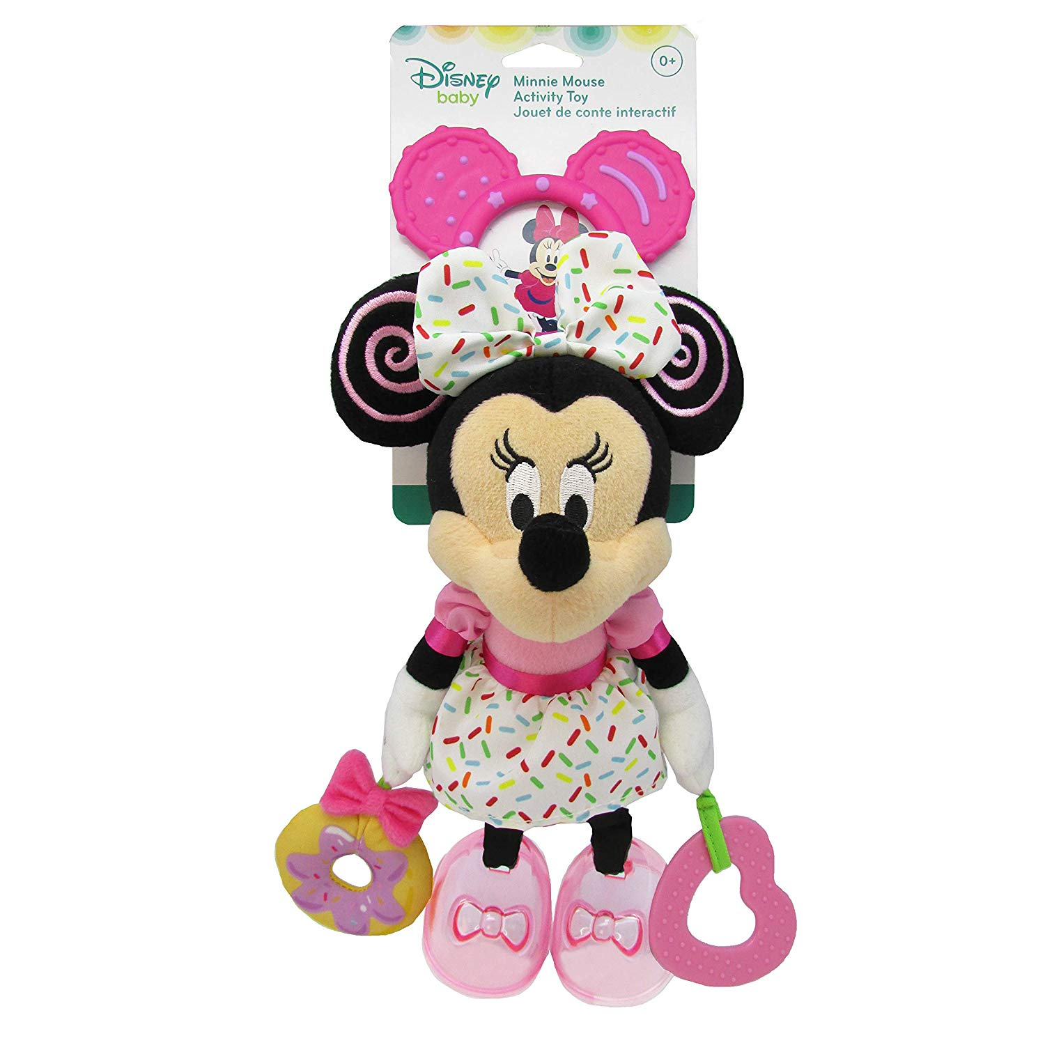 Disney Baby Minnie Mouse Baby Attachable Activity Toy