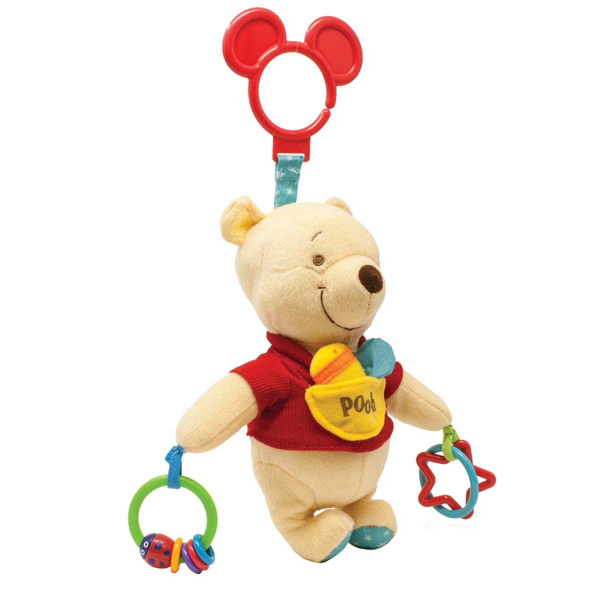 Disney Baby Winnie the Pooh Plush Baby Activity Toy