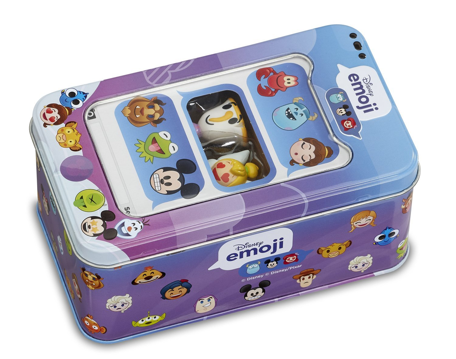 Disney Emoji #ChatCollection Storage Tin with 2 Emojis - Click Image to Close