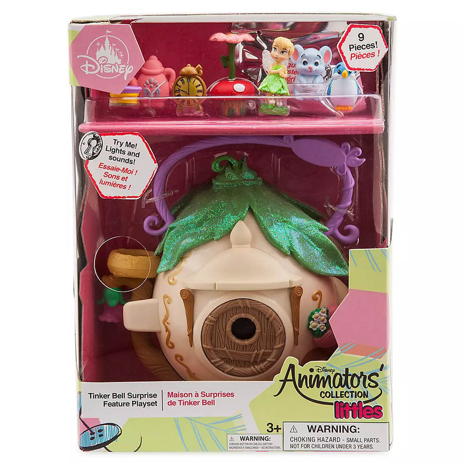Disney Animators' Collection Littles Tinker Bell Surprise Set