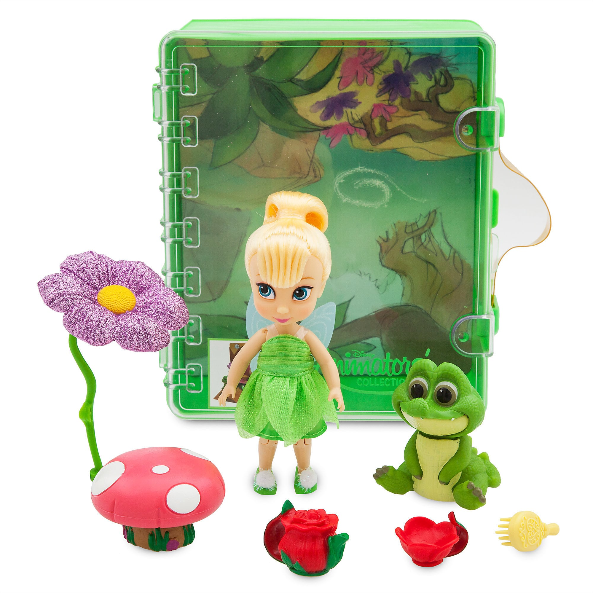 Disney Animators' Collection Tinker Bell Mini Doll Playset