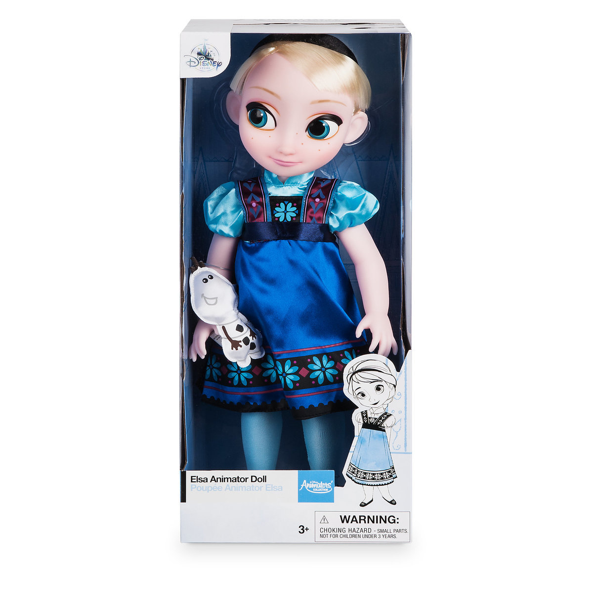 Disney Princess Animators' Collection Elsa Doll From Frozen
