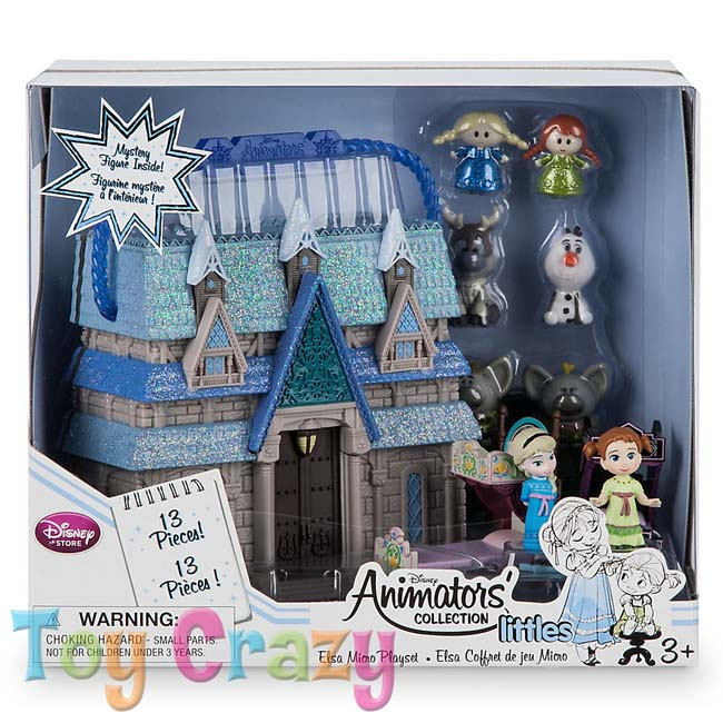 Disney Animators' Collection Frozen Elsa & Anna Micro Doll Set