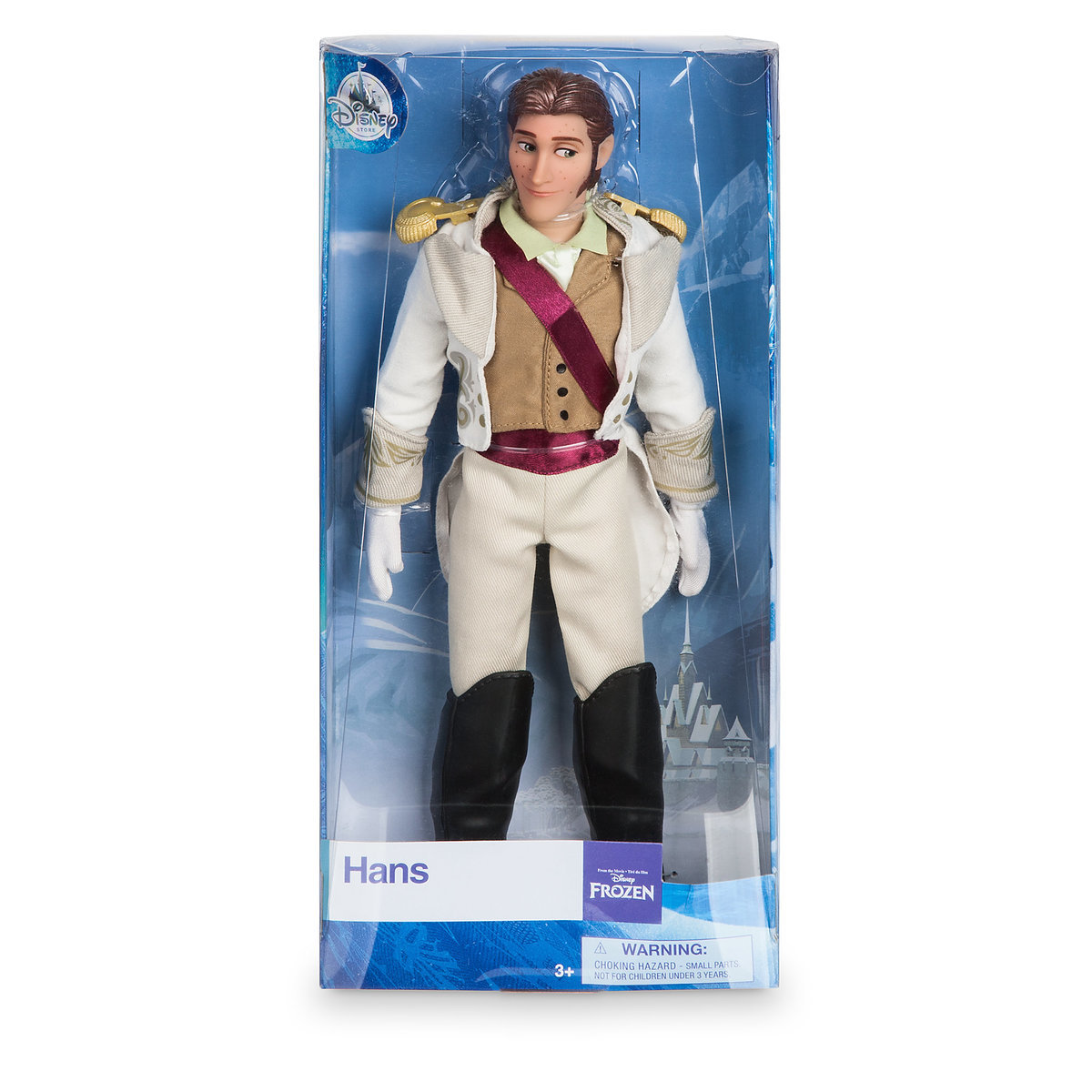 Disney Frozen Classic Hans Doll Genuine Disney