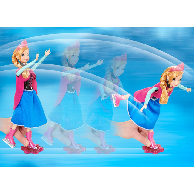 Disney Frozen Ice Skating Anna Doll