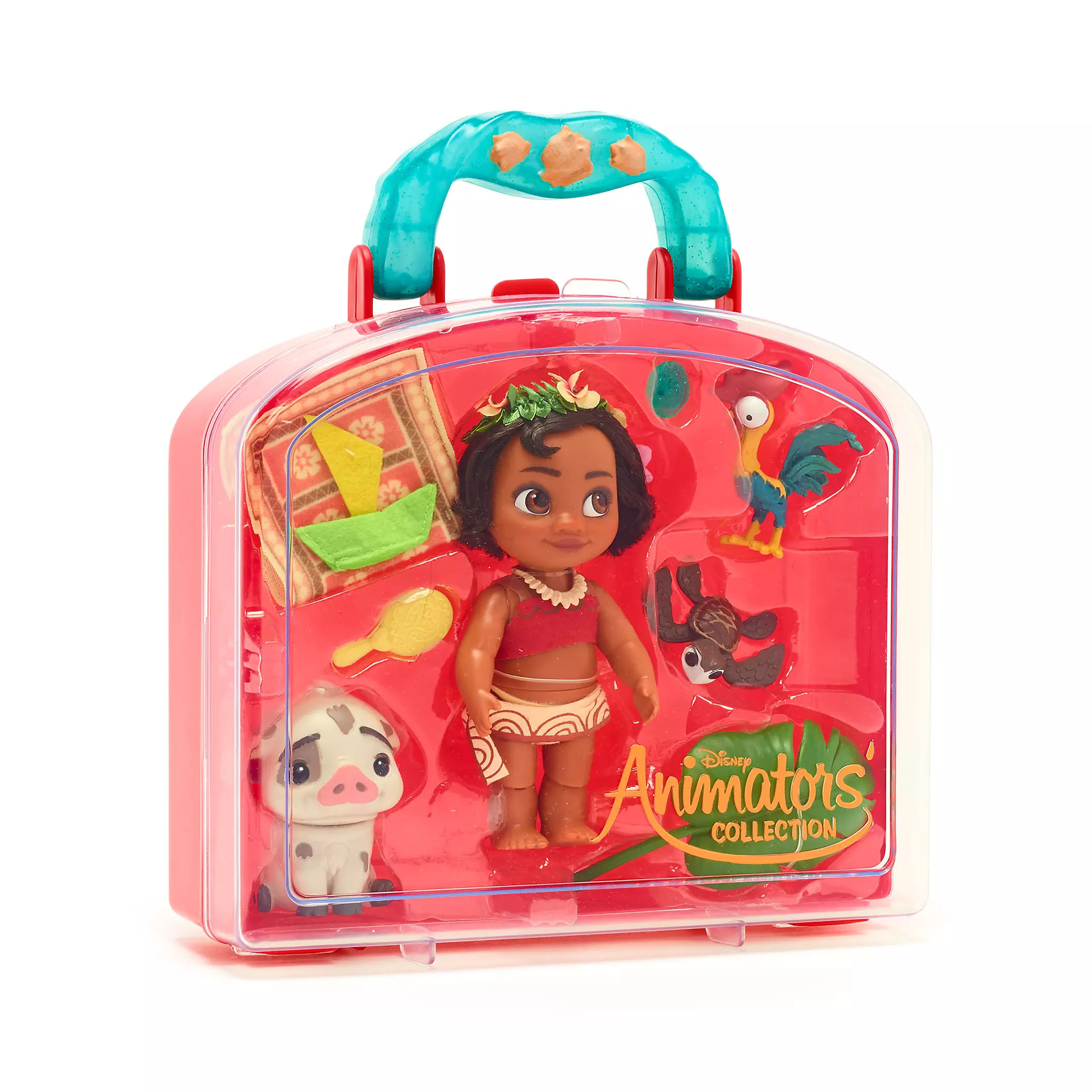 Disney Moana Animators' Collection Mini Doll Playset Play Set