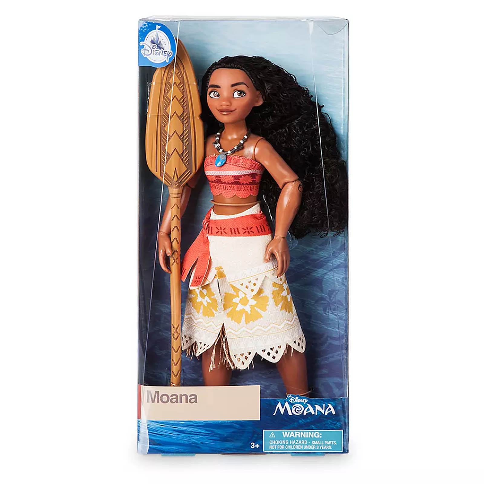 Disney Moana Classic Moana Doll with Paddle Accessory