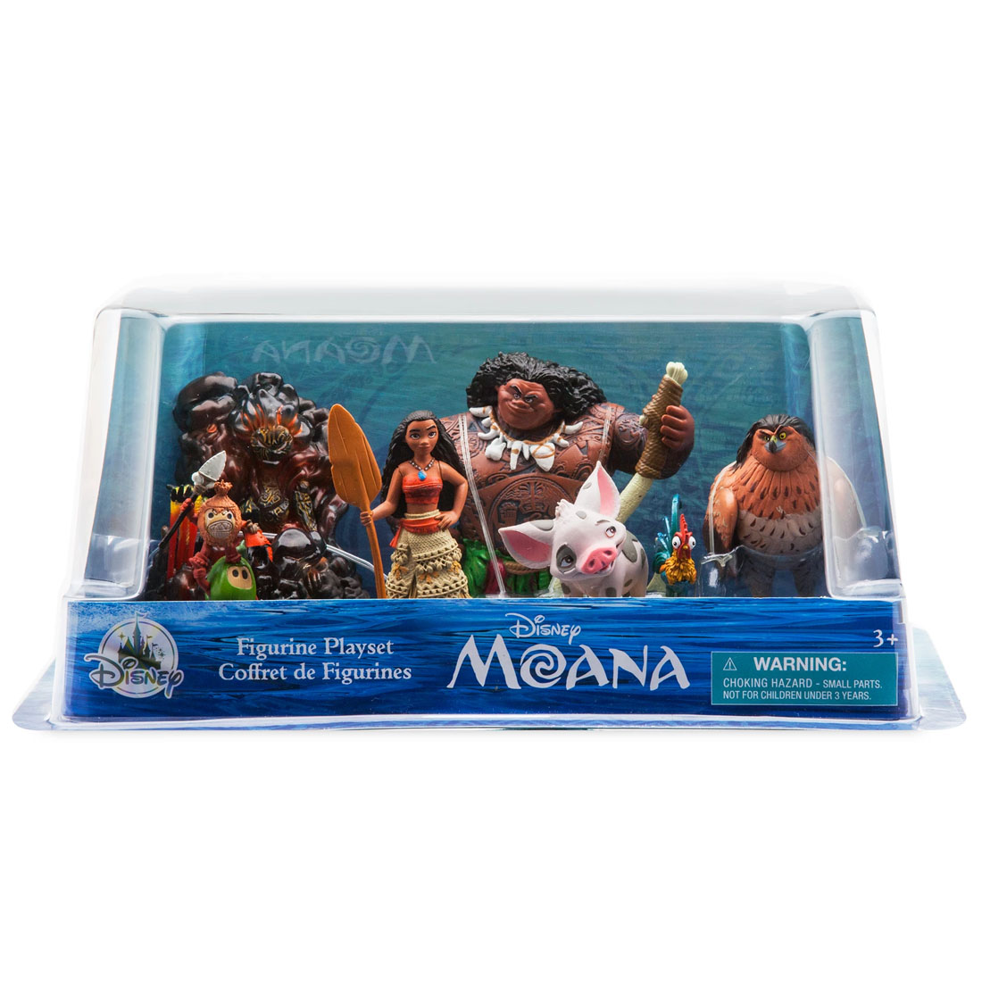 Disney Moana Figure Play Set Playset Cake Toppers Genuine Disney