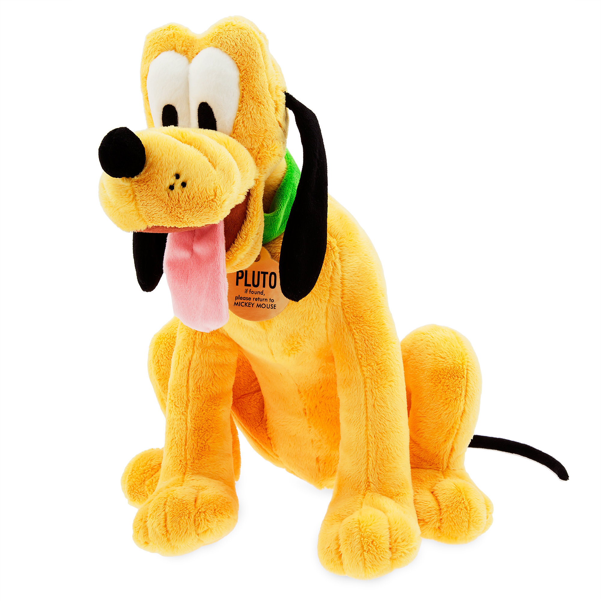 Disney Mickey Mouse Clubhouse Large Pluto Plush Toy Genuine