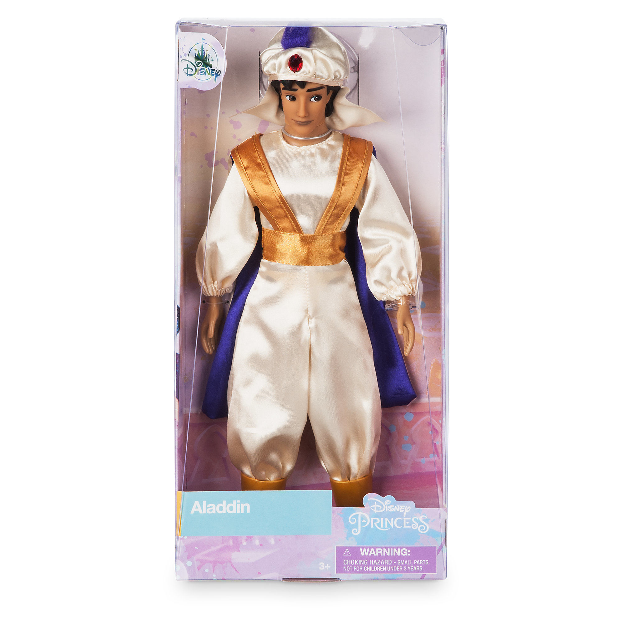 Disney Aladdin as Prince Ali Classic Doll Genuine Genuine Disney