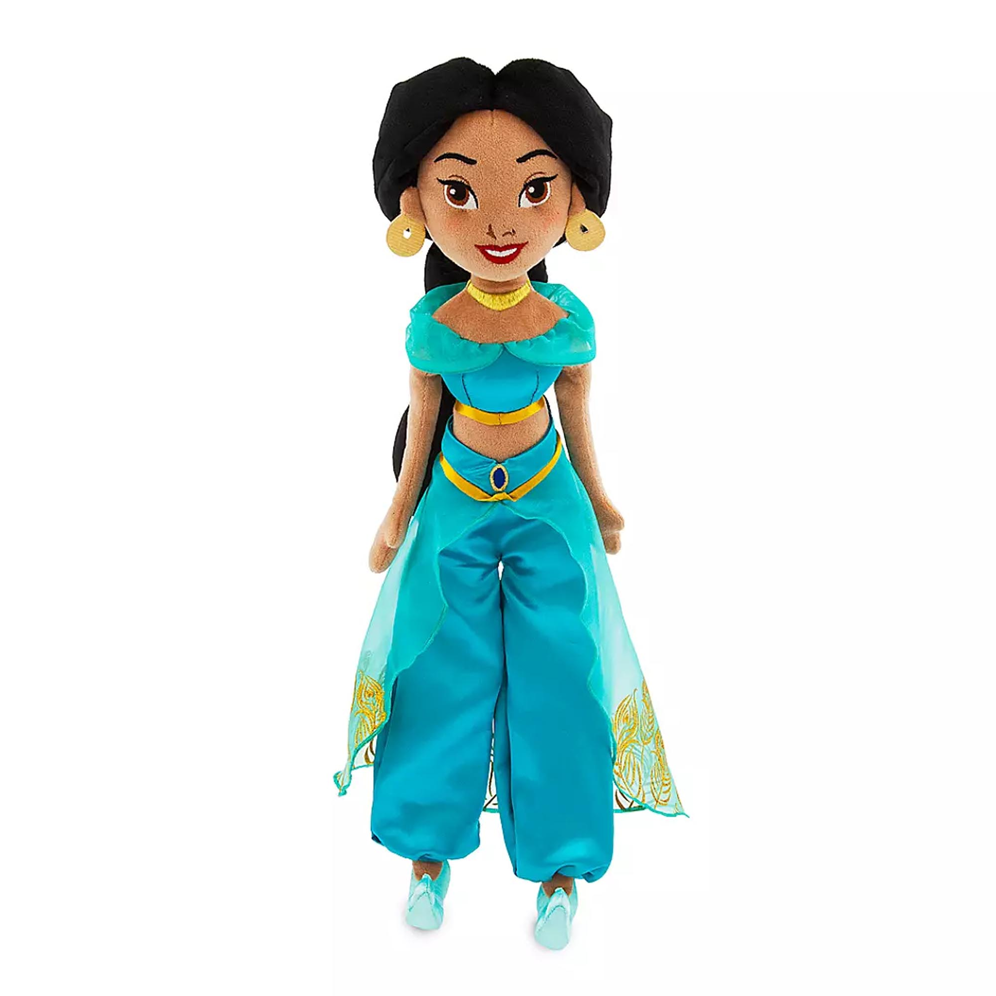 Disney Aladdin Princess Jasmine Large Plush Doll Genuine Disney