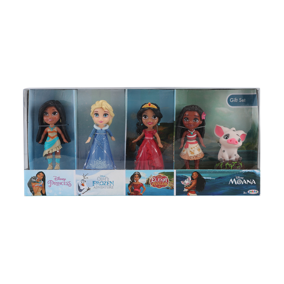 Disney Princess Mini Toddler Doll Gift Set Elsa Moana Elena