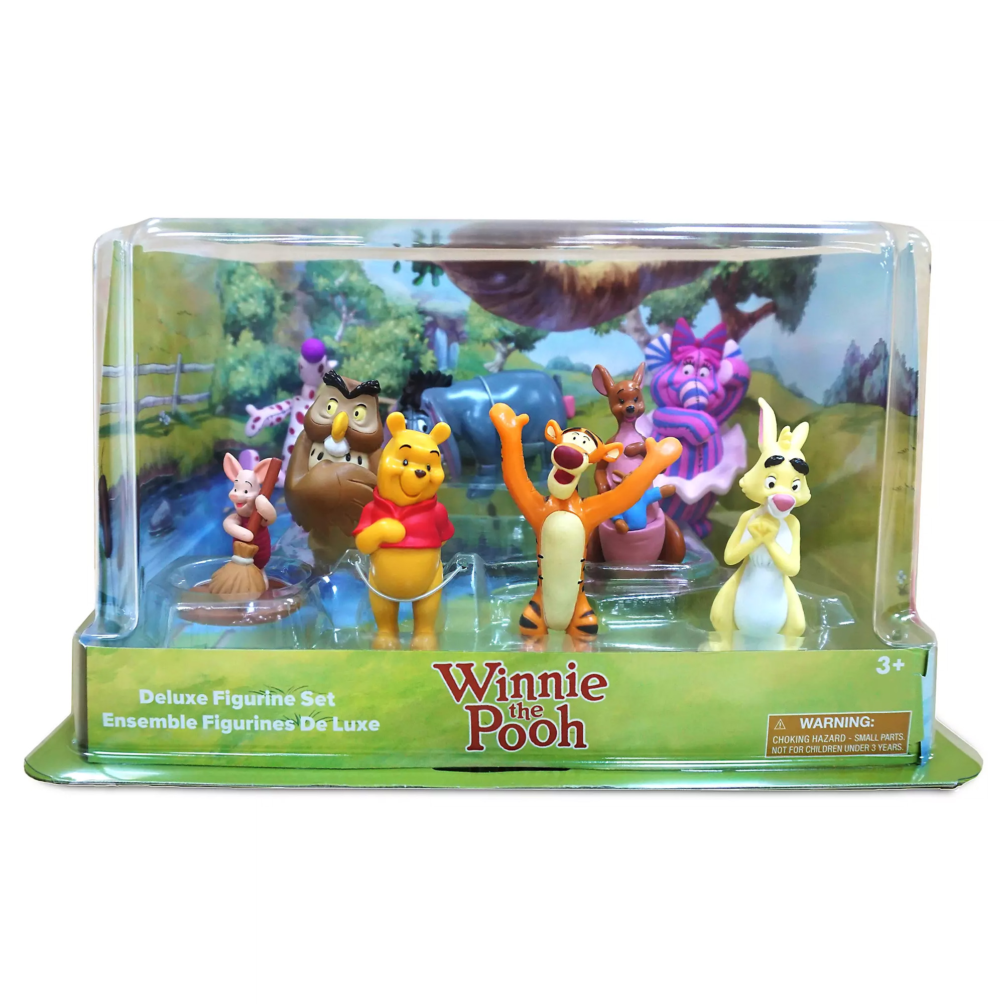 Disney Winnie the Pooh Figure Play Set Cake Toppers Genuine