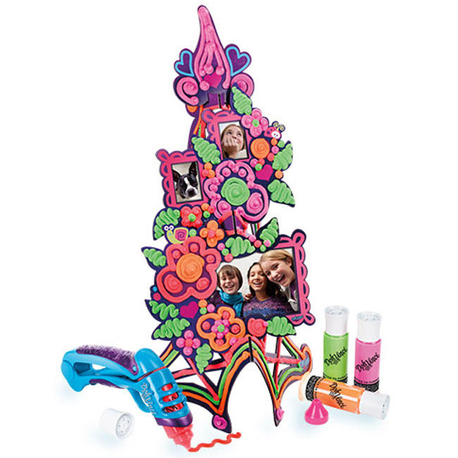 Play Doh DohVinci Flower Tower Picture Frame Kit