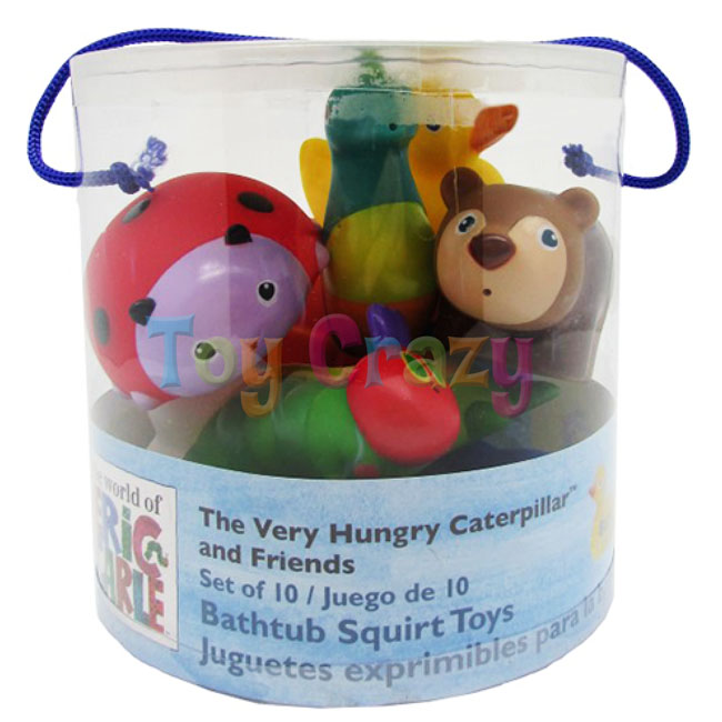 The World of Eric Carle Hungry Caterpillar Bath Squirter Toy