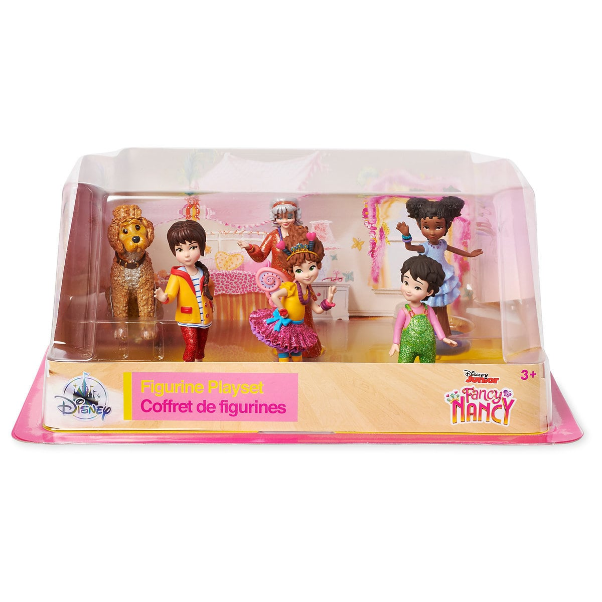 Details about Disney Fancy Nancy Figure Play Set Genuine Disne