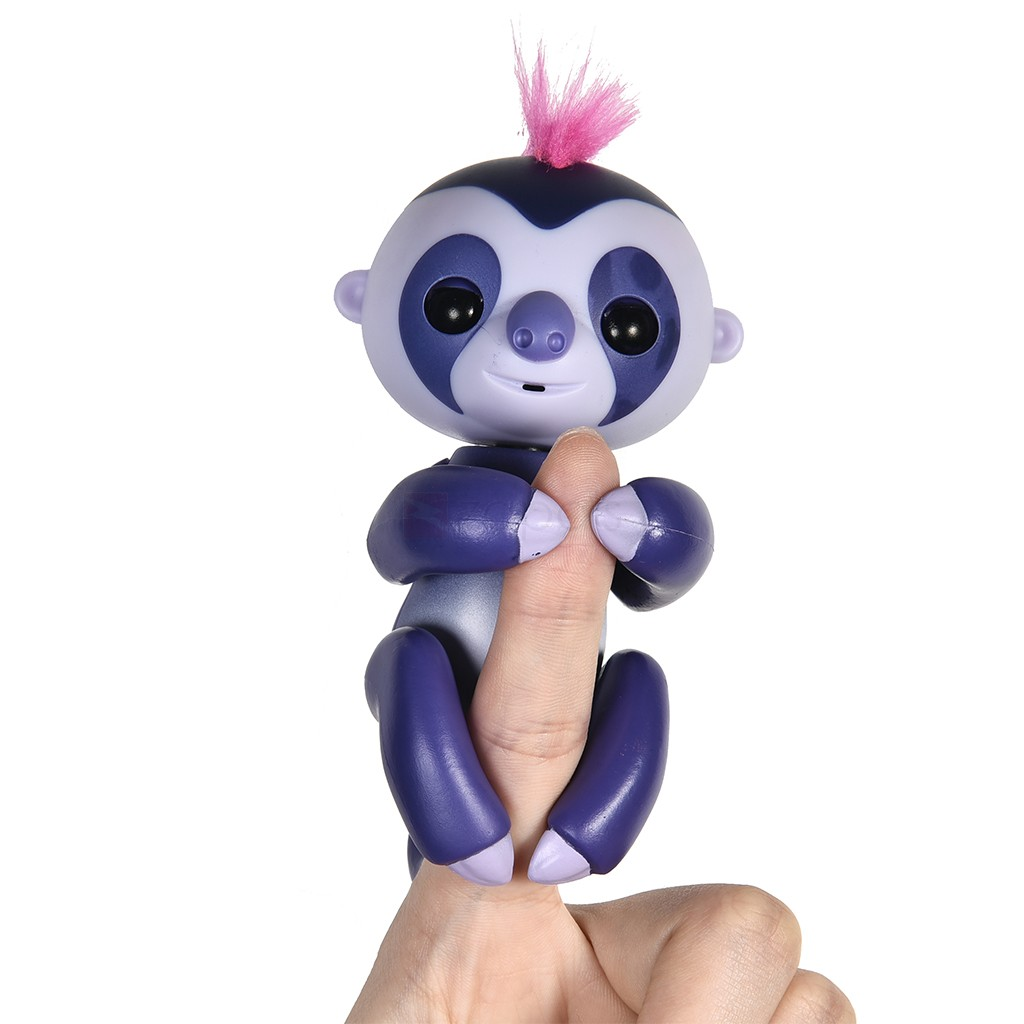 Fingerlings Interactive Marge the Purple Baby Sloth