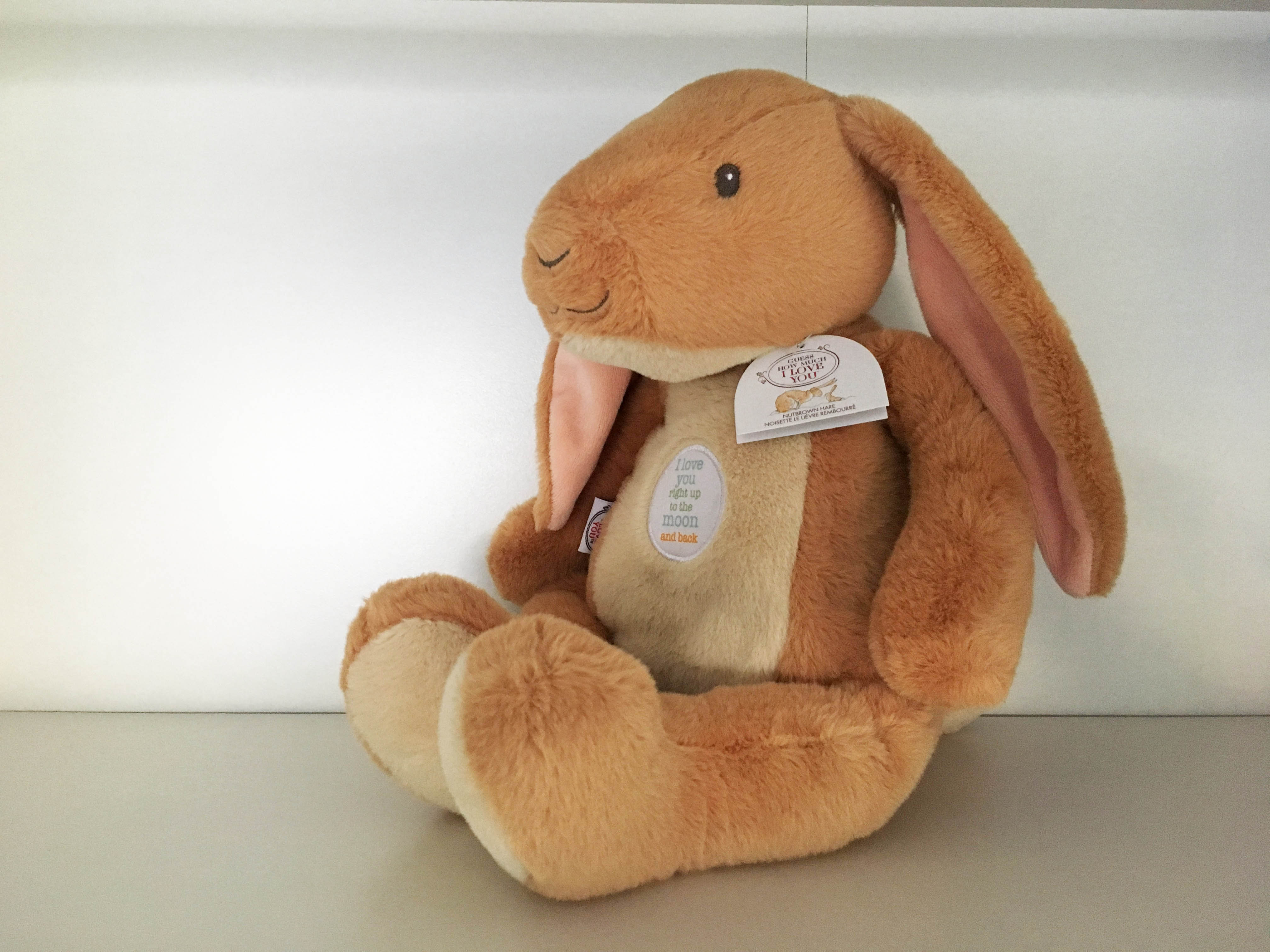 Guess How Much I Love You Nutbrown Hare Bunny Large