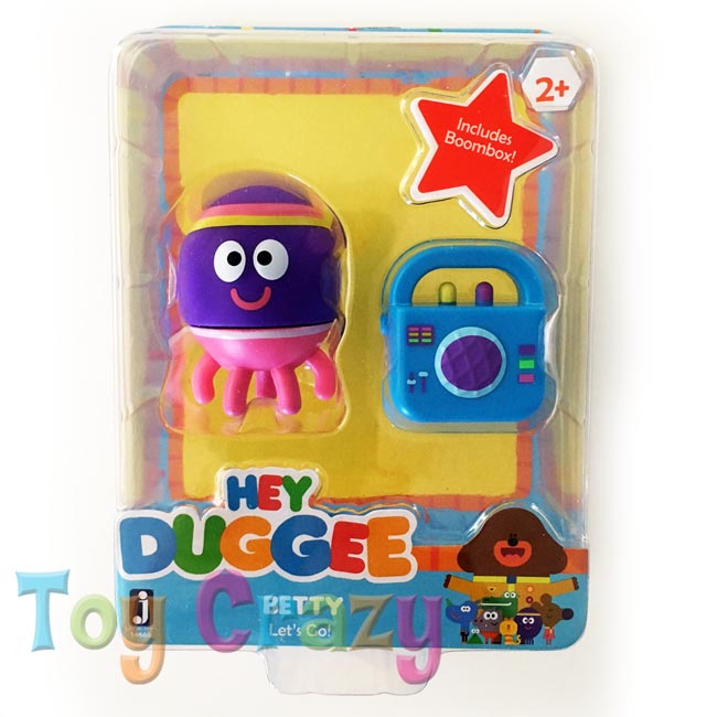 Hey Duggee Collectible Betty with Boombox Figurine