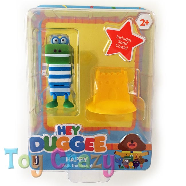 Hey Duggee Collectible Happy Visting the Beach Figurine