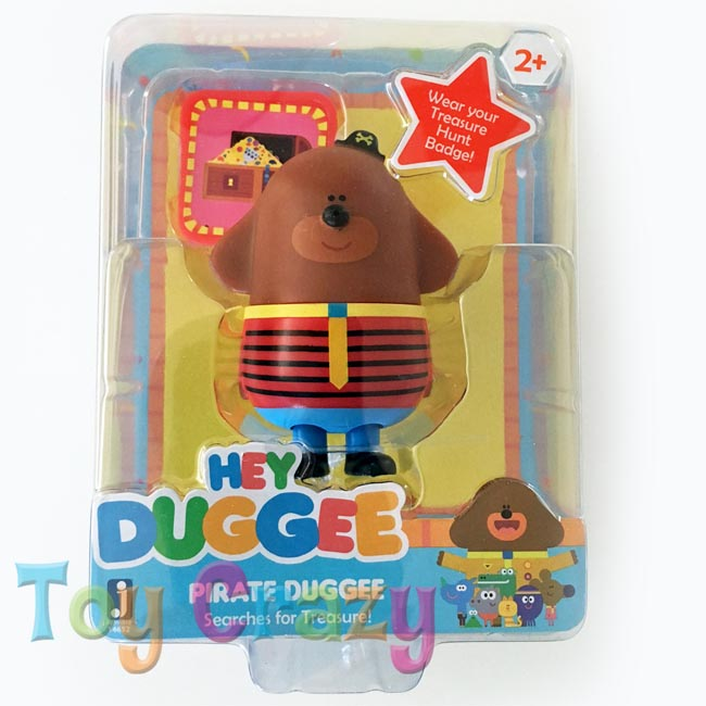 Hey Duggee Collectible Pirate Duggee Treasure Figurine