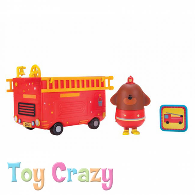Hey Duggee Duggee's Rescue Vehicle Toy with Badge