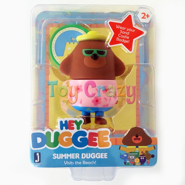 Hey Duggee Collectible Summer Duggee at the Beach Figurine