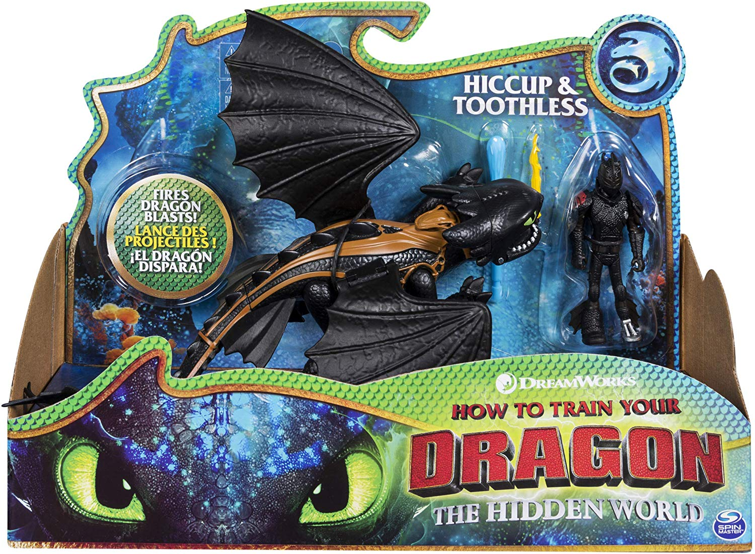 How to Train Your Dragon The Hidden World Toothless & Hiccup