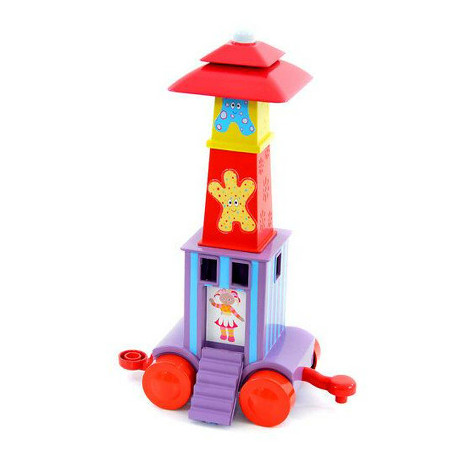 In the Night Garden Ninky Nonk Stacking Blocks Carriage