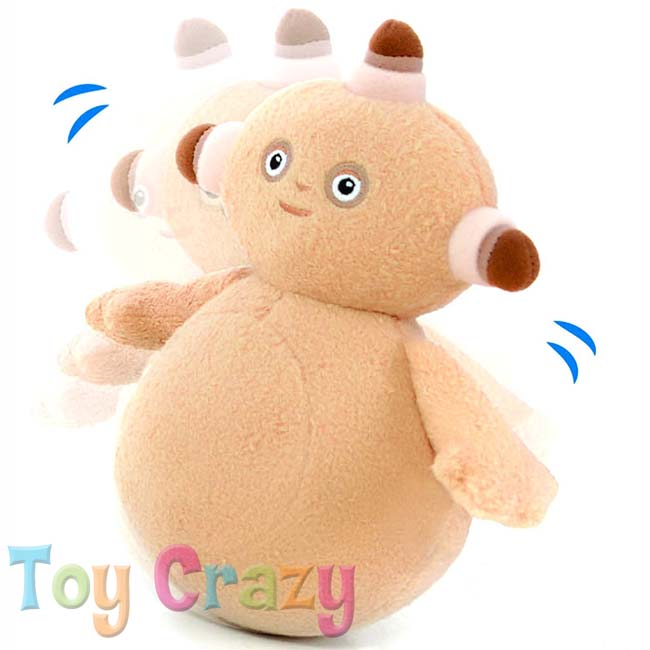 In The Night Garden Makka Pakka Wobble Toy with Chime