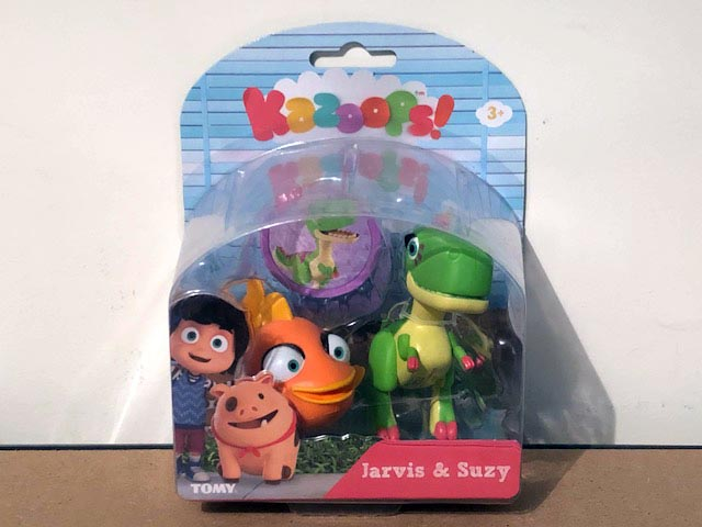 Tomy Kazoops Imagination Pack Jarvis & Suzy Figurines