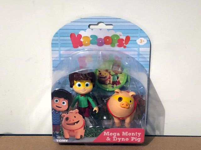 Tomy Kazoops Imagination Pack Mega Monty and Dyno Pig Figurines