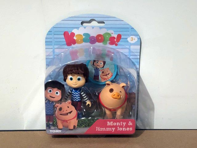 Tomy Kazoops Imagination Pack Monty and Jimmy Jones Figurines
