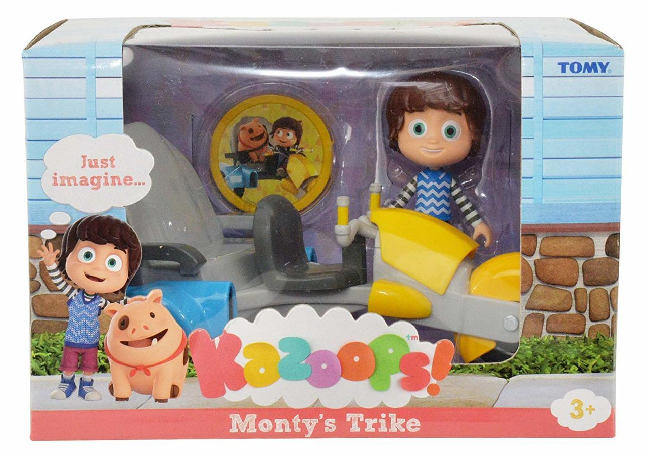 Kazoops Monty's Trike with Imagination Token Figure
