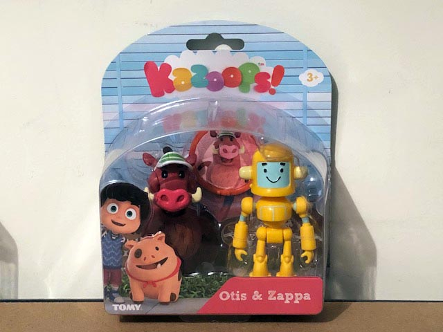 Tomy Kazoops Imagination Pack Otis & Zappa Figurines