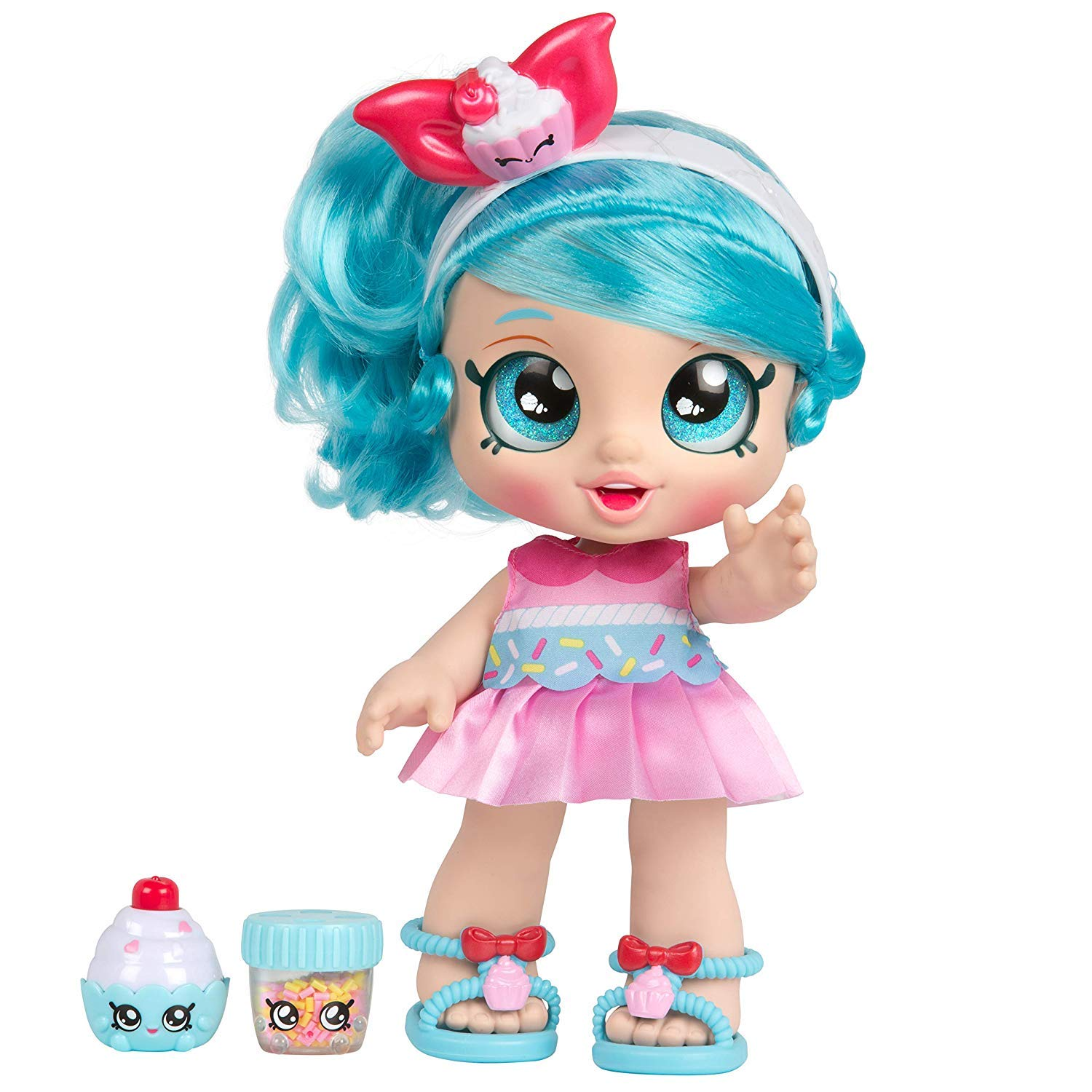 Kindi Kids Snack Time Friends Toddler Jessicake Doll