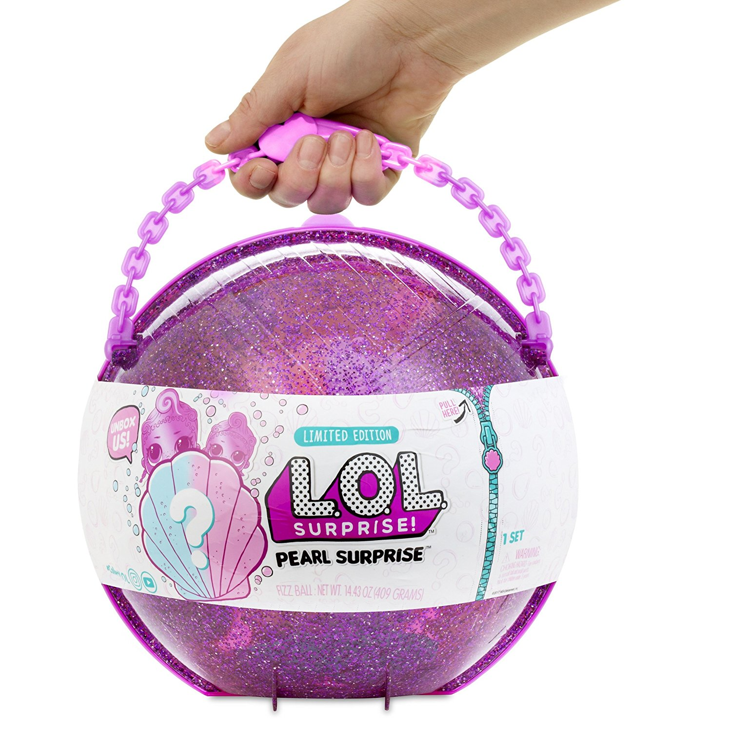 LOL Surprise Limited Edition Purple Pearl Surprise - Click Image to Close