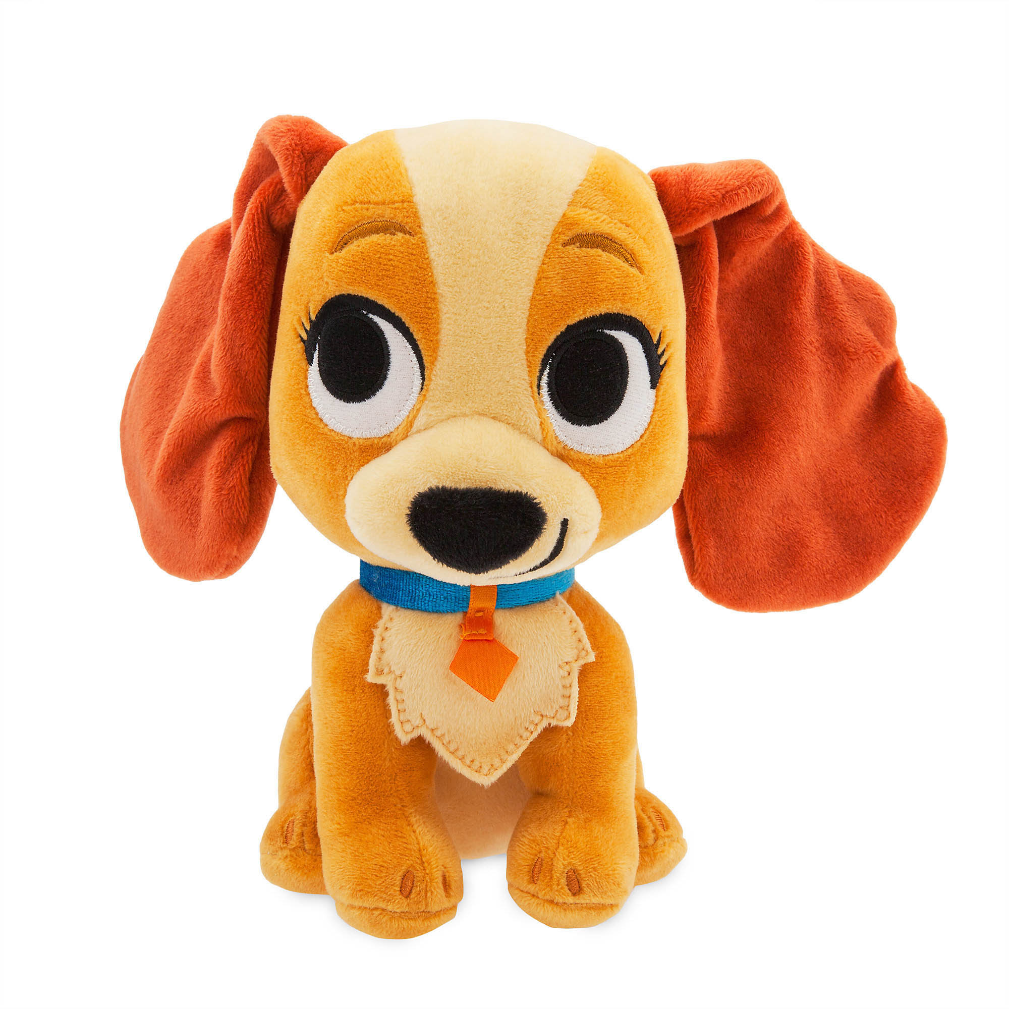 Disney Furrytale Friends Lady And The Tramp Lady Small Plush